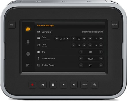 Blackmagic cinema camera EF 11
